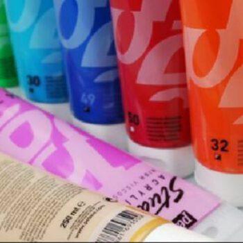 HIER: Acrylfarben von MH&P DAS KEILRAHMENWERK
