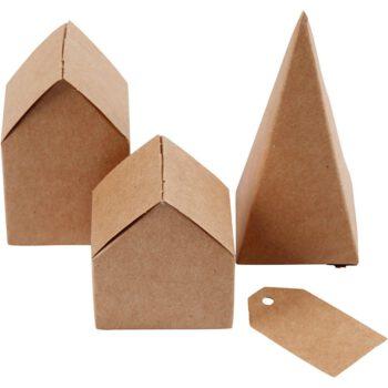HIER: Häuser gestanzt aus Karton von Creativ Company