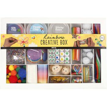 HIER: Kreativbox Rainbow von Creativ Company