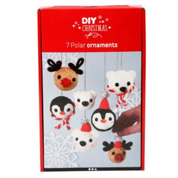 HIER: Weihnachtskugeln Polartiere von Creativ Company